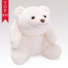 "Snuffles Bear White Large 10"" Inch Plush # 4030268 Gund NWT #GUND #AllOccasion"