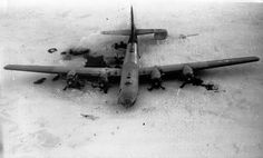 "B-29 ""Kee Bird"" crashed in Greenland in February 1947."