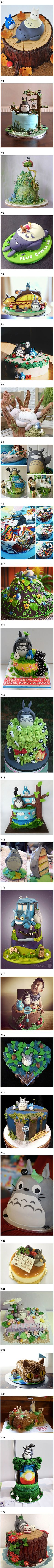Totoro, everyone's favorite big, loveable forest spirit, is one of the best (and tastiest) ways to decorate a cake for any occasion – especially a birthday! This Japanese animated classic by Studio Ghibli reminds us to nurture our inner child, and there's no better way to do that than with a big slice of Totoro cake! The movie's big, round characters and clear colors make them excellent subjects for creative cake makers.