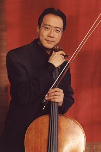 YO-YO MA Cellist, 56  The world-famous, Paris-born, Harvard-educated Ma, a married father of two, began playing the cello at age 4.