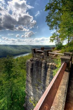 Rimrock Overlook in Warren PA  Its easy to forget home beautiful home really is.
