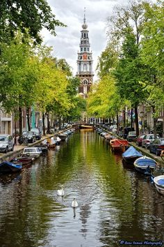 Amsterdam, Netherlands. The other canal city.