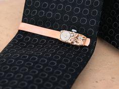 Copper Tie Bar Men's Accessories Copper by KfiatekGiftedHands