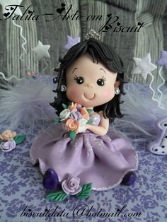 Princesinha 15 anos by Biscuit da Ta, via Flickr