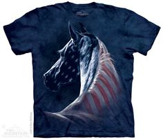 """""""Patriotic Horse Head"""" In adult  sizes only"""