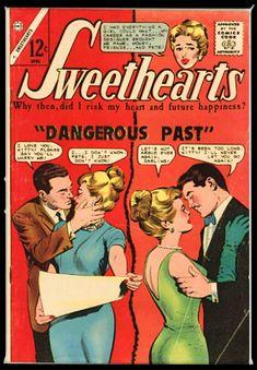 * Dick Giordano inks; Possibly Pat Masulli, or Giordano pencils (GCD) Charlton Comics, I Love You, Let It Be, Marry Me, Cover Art, Romance, Romance Film, Te Amo, Romances