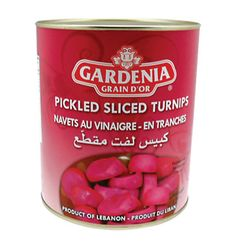 Catering Pickles - Pickled Sliced Turnips - 3000g