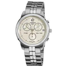 Tissot Mens T0494171103700 PR 100 Silver Chronograph Dial Watch | The 247 Market