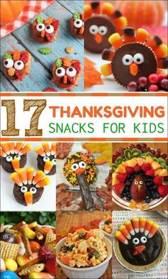Thanksgiving Snacks for Kids