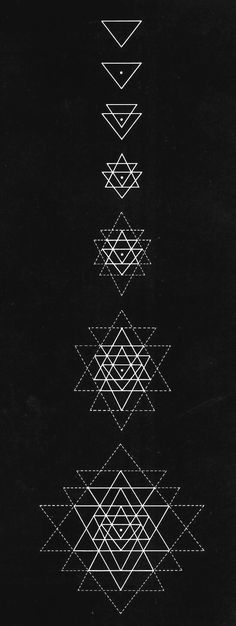 The Sri Yantra, a geometrical representation of Shiva/Shakti, Divine Masculine/Divine Feminine Sacred Geometry Symbols, Geometry Art, Sacred Geometry Triangle, Sacred Geometry Tattoo, Geometry Pattern, Tatuagem Yantra, Design Tattoo, Tattoo Designs, Tattoo Ideas