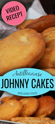 The best Caribbean Johnny Cakes are made with this authentic recipe. Learn how to make traditional Johnny Cake from Aruba, Bonaire, Curaçao, Jamaica & Trinidad. Jamaican Cuisine, Jamaican Dishes, Jamaican Recipes, Caribbean Johnny Cake Recipe, Caribbean Recipes, Caribbean Bakes Recipe, Bake And Saltfish, Johnny Cakes Recipe, Trinidadian Recipes