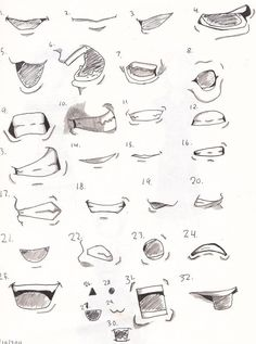 Drawing : Anime Mouth Transparent Also Anime Lips Drawing In Conjunction With Anime Mouths Girl Anime Lips Drawing Drawings Anime Mouth Drawing, Smile Drawing, Nose Drawing, Guy Drawing, Drawing Ideas, Drawing People, Anime Drawings Sketches, Cool Art Drawings, Anime Sketch