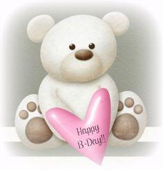 Happy Birthday Bear.