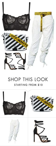 """"""""""" by lovlieee ❤ liked on Polyvore featuring Naja and Off-White"""