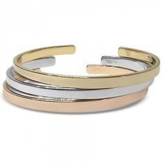 Trio de bracelets Jonc Ruban