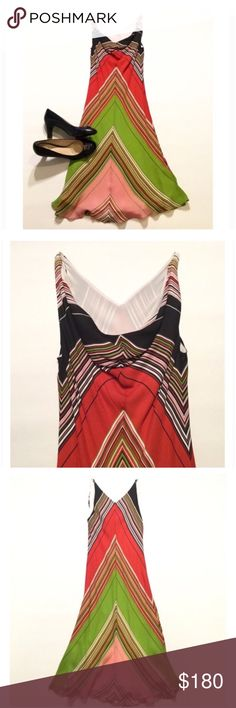 """SAKS Fifth Ave Silk Dress Brand new without tag. SAKS fifth Ave Designer, Peter Cohen. 100% Silk. No longer available in stores. Fully lined. Elegant Draped front neck line. V back. Size S. bust approx 36"""" length approx 42.5"""". 🚫 Trades. Reasonable offers always welcome Saks Fifth Avenue Dresses"""