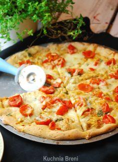 Właściwie to miałam problem czy nazwać to bardziej tartą, czy może pizzą…