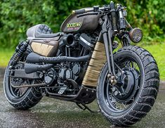Fury Road. A Post-Apocalypse Sportster. at Cyril Huze Post ...