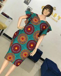 African Dresses For Kids, African Wear Dresses, Latest African Fashion Dresses, African Print Fashion, African Attire, Chitenge Dresses, African Print Dress Designs, African Design, Office Dresses
