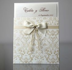Get inspiration for DIY Wedding Invitations Ideas, choose your own design, then create it in your special day - Choose your favorite theme right here! Traditional Wedding Invitations, Luxury Wedding Invitations, Wedding Invitation Cards, Craft Wedding, Diy Wedding, Wedding Cards Handmade, Engagement Cards, Simple Weddings, Creations
