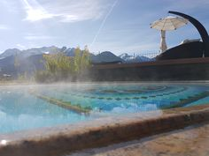 Solepool mit Relaxliege  - Entspannung pur in der Wellnessresidenz #schalber in #serfausfissladis #tirol Mountains, Nature, Travel, Voyage, Viajes, Traveling, The Great Outdoors, Trips, Mother Nature