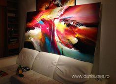Paintings by Dan Bunea, living abstract paintings, www.danbunea.ro