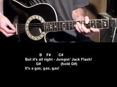 Jumping Jack Flash - Rolling Stones - How To Play. See 100's of free beginner guitar lessons at http://www.bestbeginnerguitarlessons.com