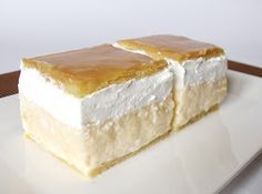Recipe of the week: cream cake / krémes Hungarian Desserts, Hungarian Cake, Hungarian Recipes, Hungarian Food, Sweet Recipes, Cake Recipes, Dessert Recipes, Desserts To Make, Food To Make