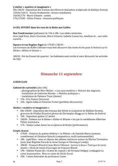 Les ARMES secrètes de la POESIE: Festival O+O 2016 : pré-programme