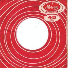 Mercury - USA - 1960s-record sleeve