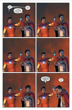 Invincible Iron Man #3 - Art David Marquez / Words Brian Michael Bendis