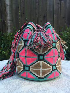 Wayuu Mochila Pink Hues