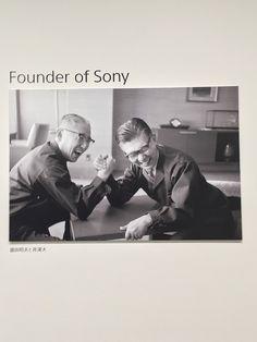 founder of sony