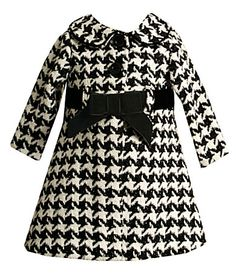 classic houndstooth - wish they made this in big girls sizes too...
