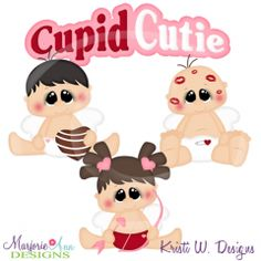 Cupid Cuties Cutting Files-Includes Clipart