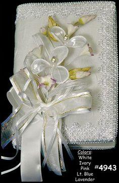 bible bridle bouquet | Decorated Bridal Bibles, Three Piece Bridal Bouquet, Lazo & Headpiece