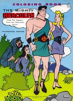 Hercules, hero of song and coloring books!  http://retroreprints.com/book.php?book_id=605