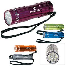 Norwood - Pocket Aluminum LED Flashlight. A great gift for hotel and resort employees.