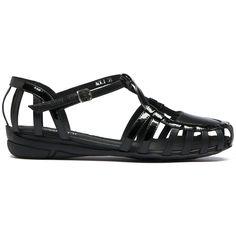 AOLI   Cinori Shoes #summer #sandals #black #fashion #monochrome #shoes