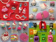 Hello Kitty Mcdonalds Toys, Hello Kitty House, Hello Sanrio, Disney Ducktales, Hello Kitty Collection, Cat Stickers, Bento Box, Toy Boxes, My Childhood
