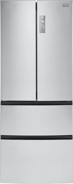 Counter-Depth French Door Bottom freezer Refrigerator in Stainless Steel, includes delivery and hookup (Available in select cities only) Check more at. Wine Glass Shelf, Glass Shelves In Bathroom, Floating Glass Shelves, Tempered Glass Shelves, Counter Depth Refrigerator, Kitchen Refrigerator, Stainless Steel Refrigerator, French Door Refrigerator, Slide Out Shelves