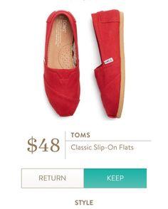 94e2f5d4079 TOMS Classic Slip On Flats from Stitch Fix. https   www.stitchfix