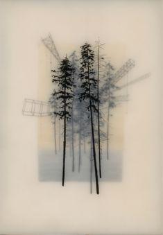 Brooks Salzwedel - Cool encaustic work.