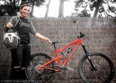 Anka Martin's new Juliana Enduro Bike