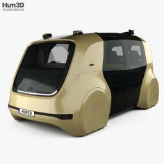 Volkswagen Sedric with HQ interior Fully editable and reusable model of a car. Car 3d Model, Future Trucks, Smart Car, Minivan, Futuristic Cars, Self Driving, 3d Design, Hot Wheels, Pixel Art