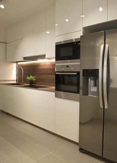 Exceptional Kitchen Room are available on our website. Have a look and you will not be sorry you did. Kitchen Room Design, Kitchen Cabinet Design, Modern Kitchen Design, Home Decor Kitchen, Kitchen Layout, Kitchen Living, Interior Design Kitchen, Home Kitchens, Kitchen Ideas