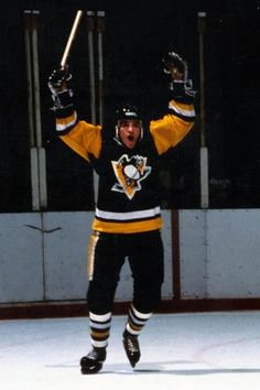Mark Johnson, 1980 Olympic Gold Medalist and Pittsburgh Penguin!  Mark now coaches the women's hockey team at the University of Wisconsin-Madison.  Mark, of course, is the son of Badger Bob Johnson.