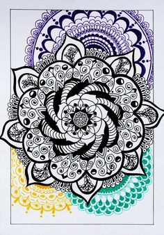 black Mandala by Anbeads on DeviantArt