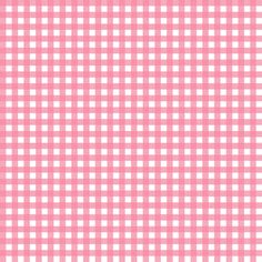 Mini Picnic Pink/White fabric by juliesfabrics on Spoonflower - custom fabric