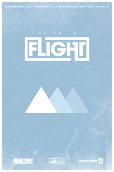The Art Of Flight - this movie is sooooo good.  graphic design/ videography is insanely cool